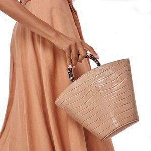 Loeffler Randall Desert Rose Agnes Fan Tote Bag